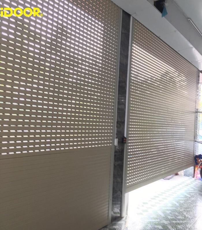 Quy trình tiếp nhận và triển khai dịch vụ thi công , lắp đặt cửa cuốn Austdoor thành phố Trà Vinh