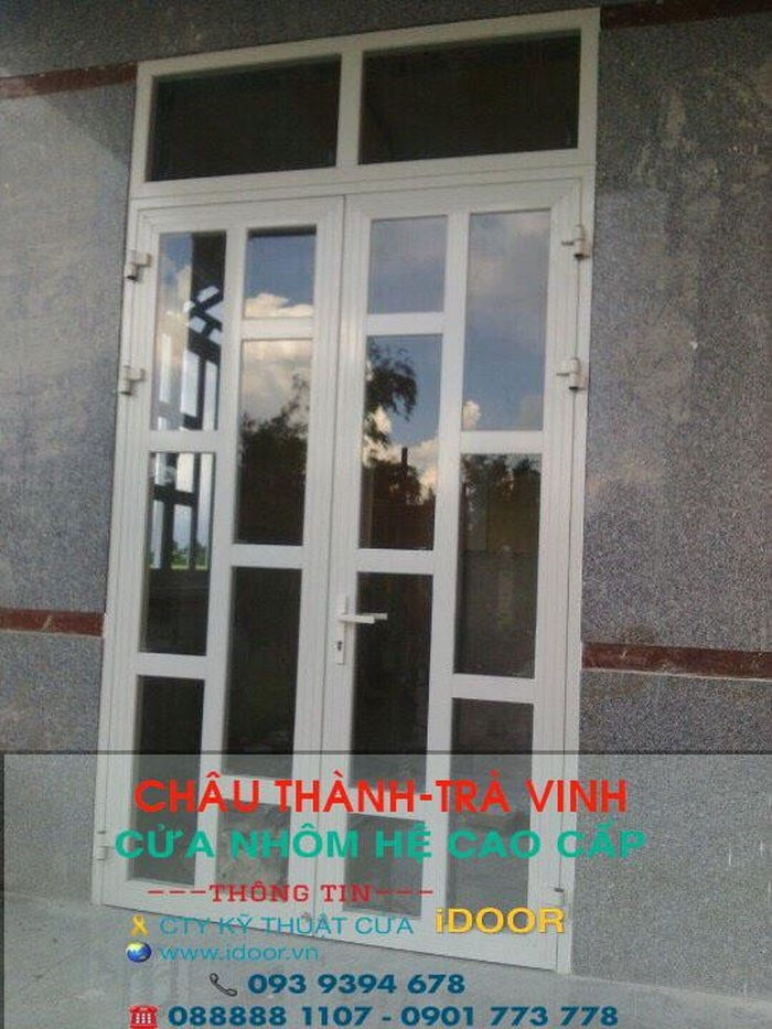 Cửa nhôm Xingfa chất lượng, đảm bảo về độ bền, độ kín khít
