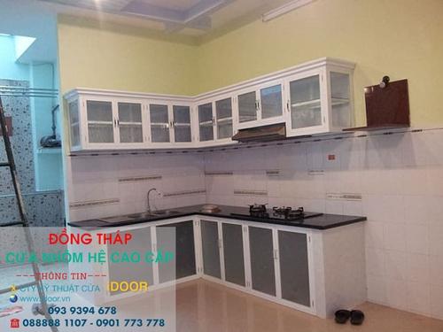 Tủ Bếp Nhôm Kính cao Cấp Giá Rẻ tại Thành Phố Cao Lãnh - Tỉnh Đồng Tháp