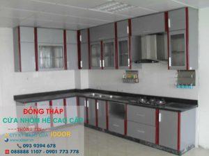 Tủ Bếp Nhôm Kính cao Cấp Giá Rẻ tại Thành Phố Cao Lãnh - Tỉnh Đồng Tháp 2