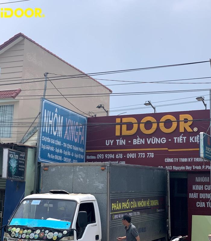 Quy trình lắp đặt cửa cuốn newdoor Long Trường