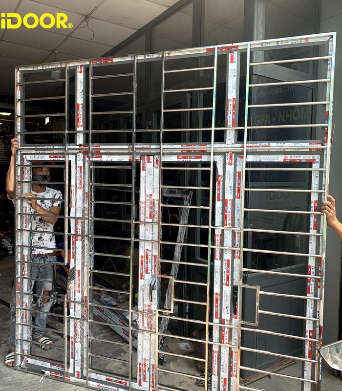 Quy trình thực hiện lắp đặt cửa nhôm Xingfa Quận 9