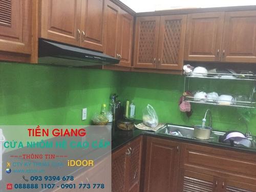 tủ bếp nhôm kính cao cấp giá rẻ tại huyện Tân Phước - Tiền Giang 2