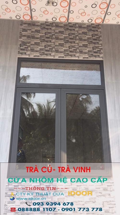 Cửa sổ, cửa đi làm từ kính cường lực sẽ có độ bền lý tưởng hơn