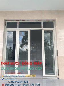 Tủ Bếp Nhôm Kính cao Cấp Giá Rẻ tại huyện Tháp Mười - Tỉnh Đồng Tháp 1