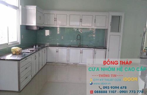 Tủ Bếp Nhôm Kính cao Cấp Giá Rẻ tại Thành phố Sa Đéc - Tỉnh Đồng Tháp 1