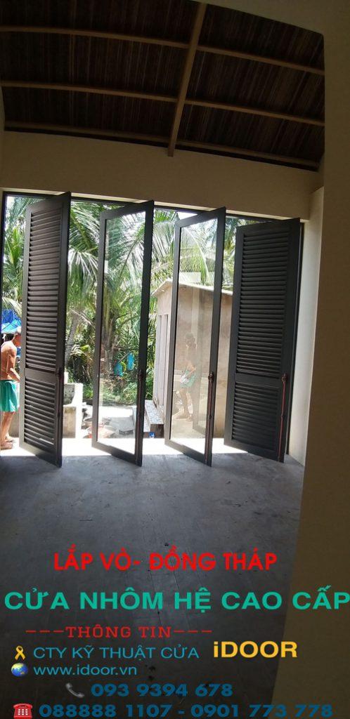 Cửa Nhôm xingfa giá rẻ tại huyện Lấp Lò - Tỉnh Đồng Tháp 2