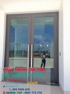 Cửa kính cường lực giá tốt tại huyện Châu Thành - Trà Vinh