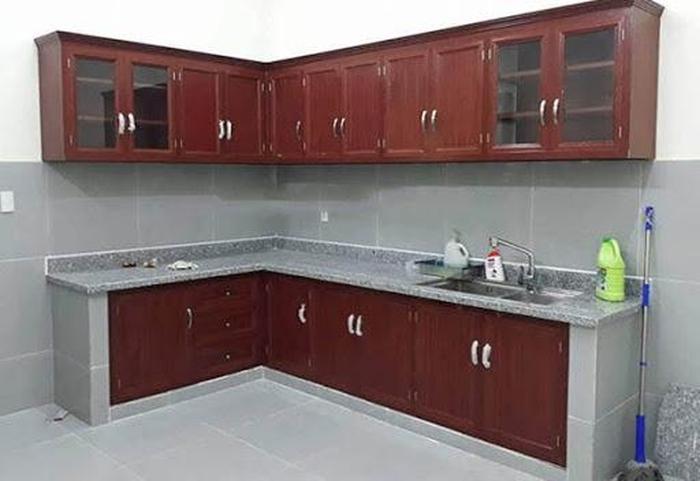 tủ bếp nhôm kính cao cấp giá rẻ