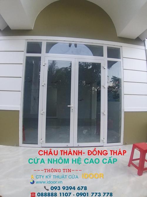 cửa Nhôm xingfa giá rẻ tại huyện Châu Thành - Tỉnh Đồng Tháp 2
