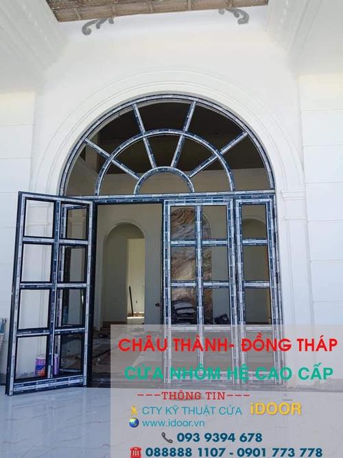 Cửa Kính Cường Lực tại huyện Châu Thành - Tỉnh Đồng Tháp