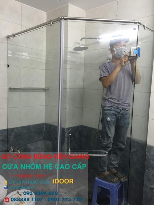 Cửa Kính Cường Lực tại huyện Gò Công Đông - Tiền Giang 2