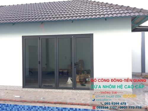 cửa nhôm xingfa giá rẻ tại huyện Gò Công Đông