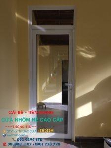 Tủ bếp Nhôm Kính cao Cấp Giá Rẻ tại huyện Cái Bè - Tiền Giang 2