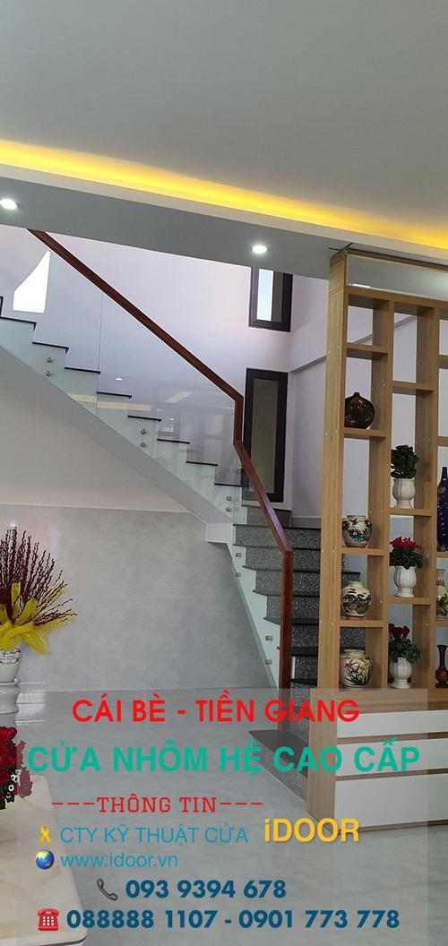 Tủ bếp Nhôm Kính cao Cấp Giá Rẻ tại huyện Cái Bè - Tiền Giang 1