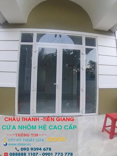 Cửa Nhôm xingfa giá rẻ tại huyện Châu Thành - Tiền Giang 3
