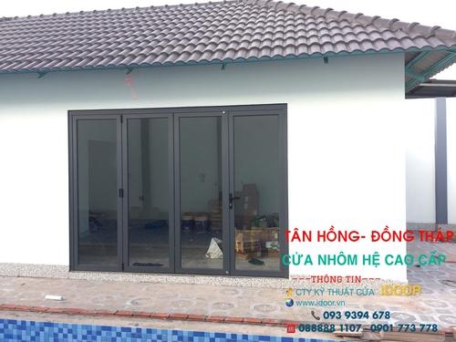Cửa Kính Cường Lực tại huyện Tân Hồng - Tỉnh Đồng Tháp 2