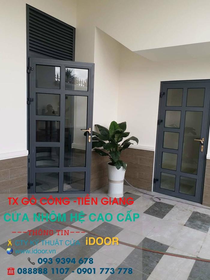 lắp đặt cửa Nhôm xingfa giá rẻ tại Tiền Giang 3