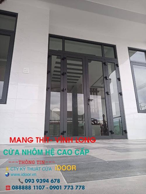 Cửa kính cường lực tại huyện Mang Thít- Vĩnh Long