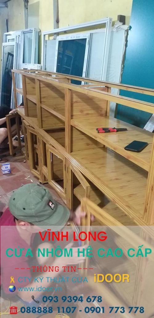 Tủ Bếp Nhôm Kính cao Cấp Giá Rẻ tại huyện Mang Thít - Vĩnh Long 3