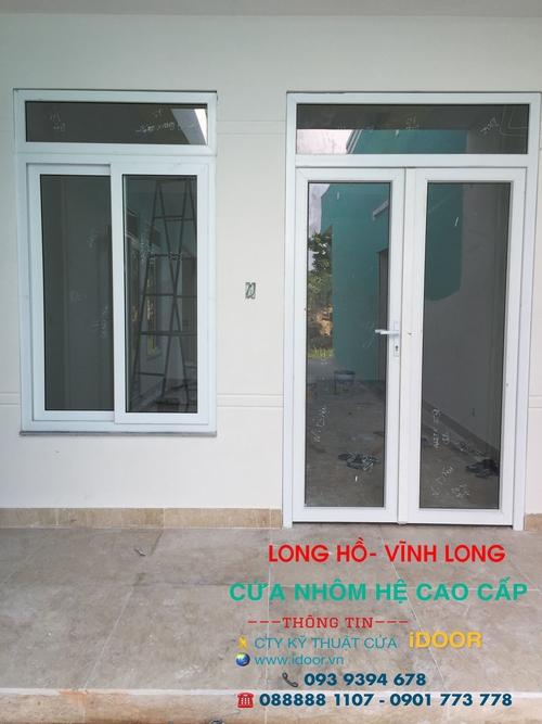 cửa nhôm kính xingfa giá rẻ tại huyện Long Hồ - Vĩnh Long 1