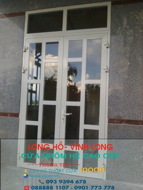 cửa nhôm kính xingfa giá rẻ tại huyện Long Hồ - Vĩnh Long 2